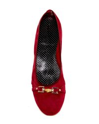 Italian Shoemakers - Red Luisa Flat - Lyst