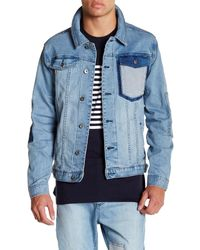 Barney Cools - Blue M. Rourke Jacket for Men - Lyst