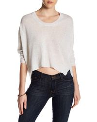 INHABIT | Multicolor Weekend U-neck Cashmere Sweater | Lyst