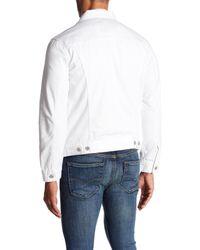 Levi's - White The Trucker Denim Jacket for Men - Lyst