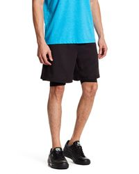 PUMA | Black Active Power 2-in-1 Short for Men | Lyst