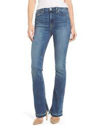 Hudson - Blue Heartbreaker High Waist Bootcut Jeans (split Second) - Lyst