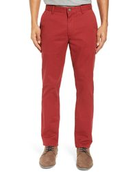 Bonobos - Tailored Fit Washed Stretch Cotton Chinos for Men - Lyst