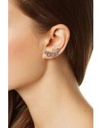 Rebecca Minkoff - Metallic Star Mismatched Earrings - Lyst