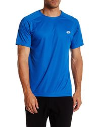 Lotto - Blue Knit Tee for Men - Lyst