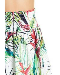 Parker - Multicolor Winslet Eyelet Printed Skirt - Lyst