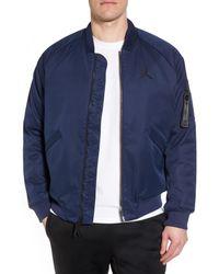 Nike - Blue Sportswear Wings Ma-1 Bomber Jacket for Men - Lyst