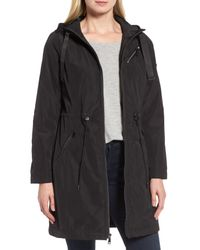 Tahari - Black Tiffany Raincoat - Lyst