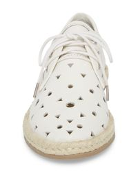 Seychelles - White Distinguished Leather Espadrille Derby - Lyst