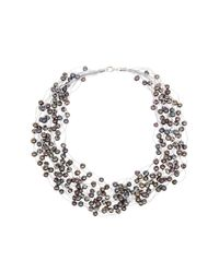 Splendid - 6-8mm Dyed Black Freshwater Pearl 18-row Necklace - Lyst