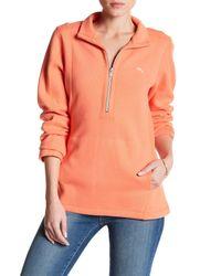Tommy Bahama Orange Aruba Half-zip Sweatshirt