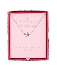 Judith Jack | Metallic Charmed Life Boxed Elephant Pendant Necklace | Lyst