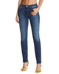 7 For All Mankind - Blue Roxanne A Pocket Jean - Lyst