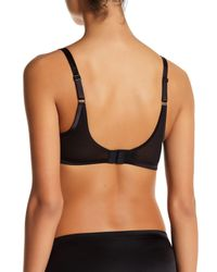 Spanx - Gray Underwire Pillow Lace' Push-up Bra - Lyst