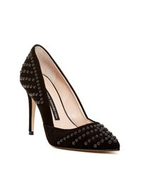 French Connection   Black Elmyra D'orsay Pump   Lyst