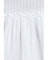 Rails - White Jolie Cotton Dress - Lyst