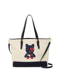 Tommy Hilfiger - Multicolor Honey Convertible Mascot Print Tote - Lyst