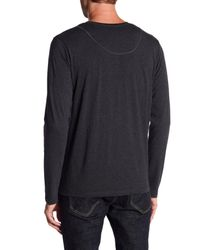KUWALLA - Blue Basic Long Sleeve Crew Neck Tee - Pack Of 2 for Men - Lyst
