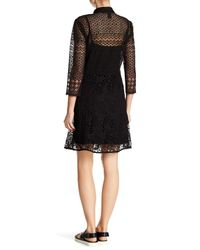 Desigual - Black Celia Lace Dress - Lyst