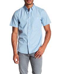 Obey | Blue Paradise Short Sleeve Regular Fit Shirt for Men | Lyst
