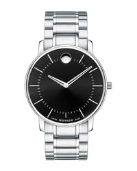 Movado | Metallic Men's Classic Bracelet Watch for Men | Lyst