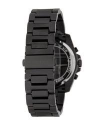 MICHAEL Michael Kors - Black Men's Brecken Chronograph Watch, 44mm for Men - Lyst