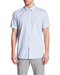 Ted Baker | Blue Micro Stripe Sim Fit Shirt for Men | Lyst