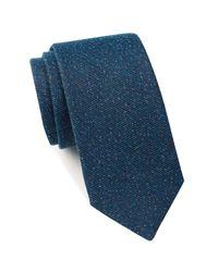 Ben Sherman - Blue Wade Seasonal Solid Tie for Men - Lyst