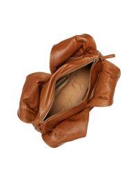 Sondra Roberts - Brown Woven Leather Shoulder Bag - Lyst