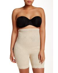 Joan Vass - Natural Power Mesh High Waist Slimmer (plus Size Available) - Lyst