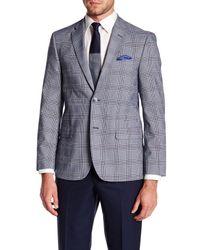 Ben Sherman - Blue Glen Two Button Notch Collar Plaid Sports Coat for Men - Lyst