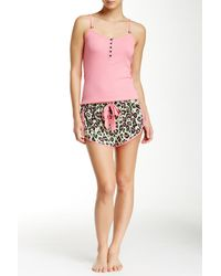 Betsey Johnson - Multicolor Printed Pj Set - Lyst