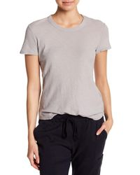 James Perse - Multicolor Sheer Slub Crewneck Tee - Lyst