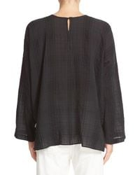 Vince - Black Drapey Easy Top - Lyst