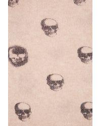 Skull Cashmere Pink Scarlett Skull Infinity Scarf