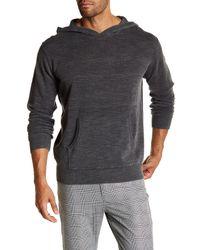 Weatherproof   Gray Jersey Hoodie Sweater for Men   Lyst