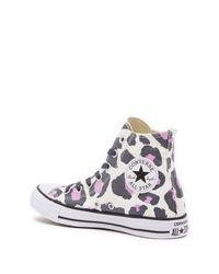 Converse - Multicolor Chuck Taylor All Star Hi Glow Sneaker (women) - Lyst