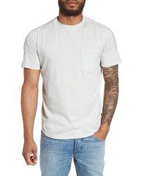 Good Man Brand - White Short Sleeve Knit Pocket Tee for Men - Lyst