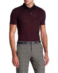 Ben Sherman | Purple Polished Polo Shirt for Men | Lyst
