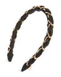 Tasha - Multicolor Woven Link Headband - Lyst