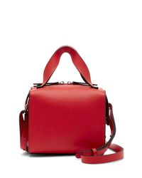 French Connection - Red Owen Mini Box Bag - Lyst