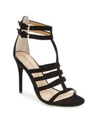 Chinese Laundry - Black Lacy Gladiator Sandal - Lyst