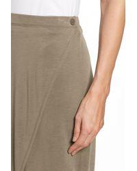 NIC+ZOE - Multicolor Boardwalk Knit Wrap Maxi Skirt - Lyst