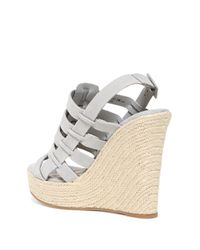 Chinese Laundry - Gray Dance Party Platform Wedge Sandal - Lyst