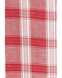 Bardot - Red Sweet Plaid Sundress - Lyst