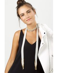 BaubleBar - Multicolor Sadia Crystal Choker Necklace - Lyst