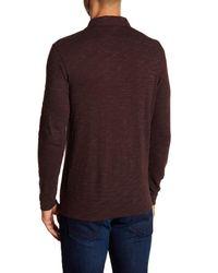 Robert Barakett - Multicolor Damian Long Sleeve Polo for Men - Lyst