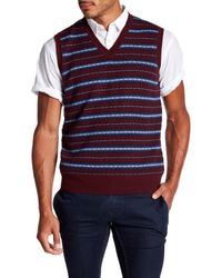 Brooks Brothers - Multicolor Fairisle Wool Sweater Vest for Men - Lyst