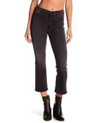 Mother - Multicolor Insider Cropped Bootcut Jeans - Lyst
