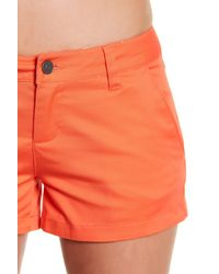 Volcom | Red Frochickie Chino Short | Lyst
